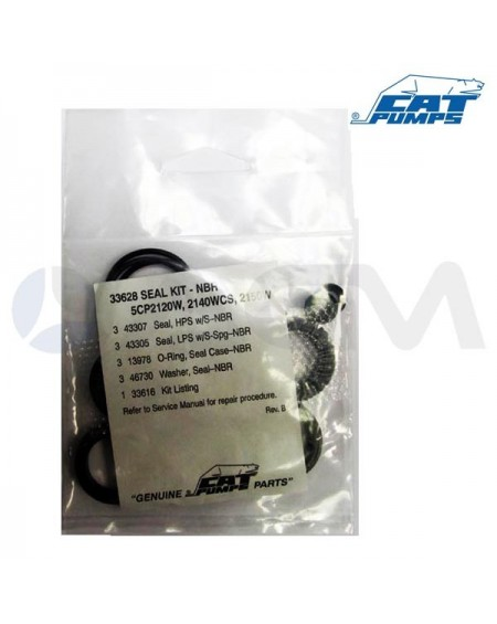 KIT COLLARINES  NBR CAT 5CP2120/40/50W  (33628)