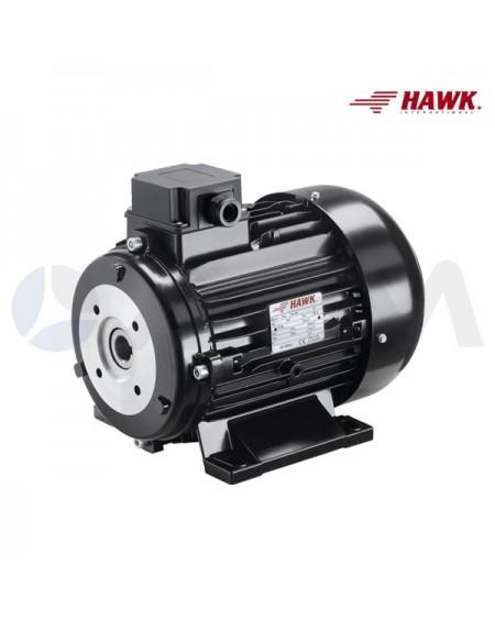 MOTOR ELECTRICO HAWK 4POLOS 5,5KW-7,5CV-230/400V(50Hz)-1450RPM-Ø24