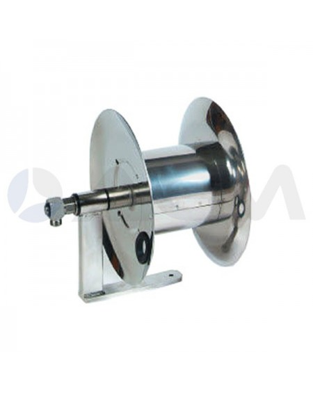 "ENROLLADOR MANUAL MAGNUM MINI ACERO INOX 350Bar-(20mt-Ø3/8"")."
