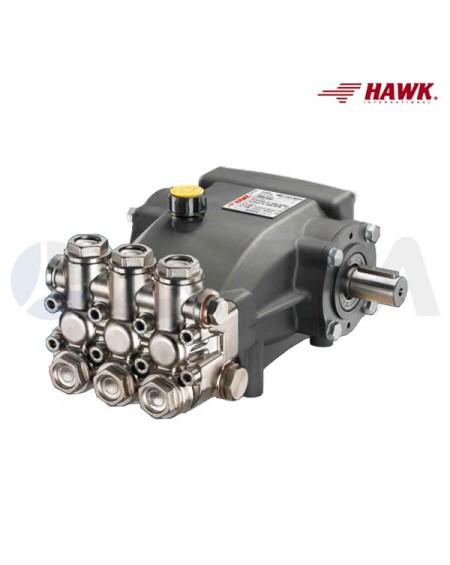 BOMBA HAWK LEUCO NMT2120CWR (ØEJE 24)  SERIE NMT CARWASH 65°C.
