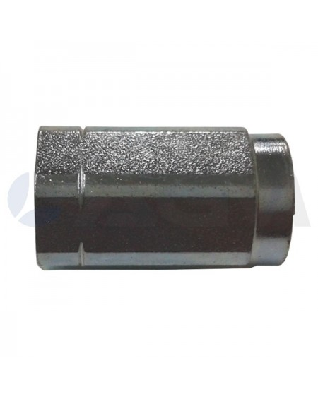 "UNION HEMBRA ZN  1/4""H-1/4""H NPT 350 BAR-60 LPM-150 °C."