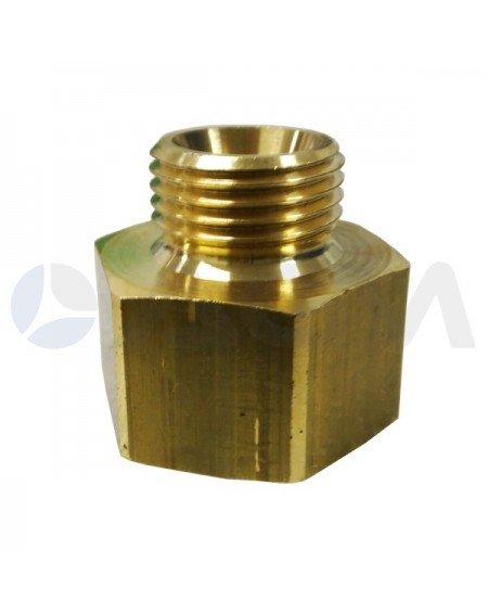 "UNION REDUCION LATON BSP 60 1/2""M-3/4""H-250BAR."
