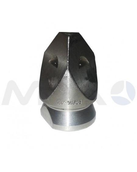 """BOQUILLA LIMPIEZA DE TUBERIAS INOX FR 506 3/4""""H-250 BAR."""