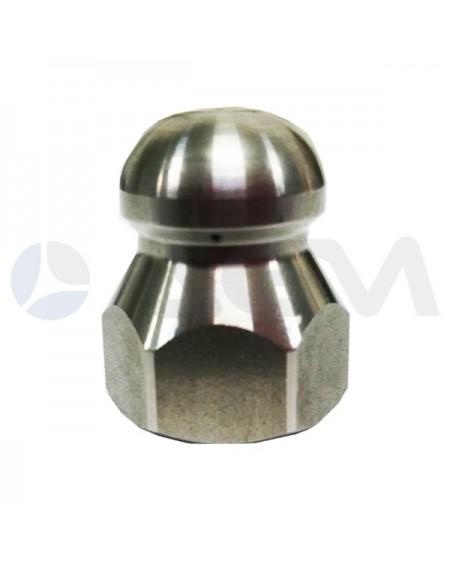 "BOQUILLA LIMPIEZA DE TUBERIAS ST4 INOX TIPO 03 G. 1/4""H Ø15mm."