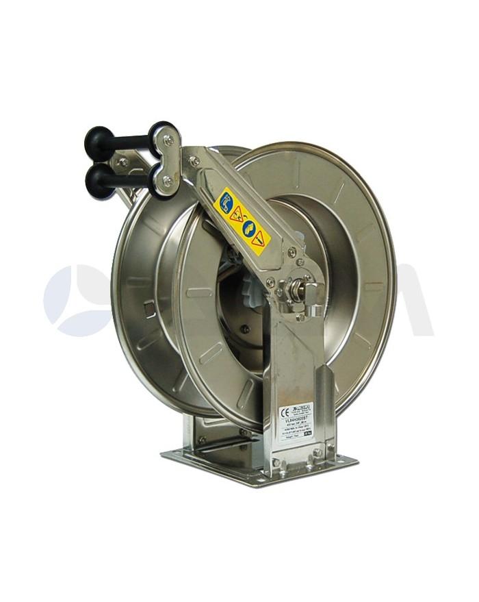 ENROLLADOR RETRACTIL VLX ACERO INOX-20MT-400B