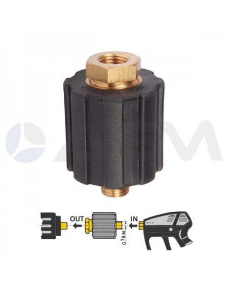 "INTERPUMP VARIADOR DE PRESION ""VARIOPRESS"" 200 BAR-21 LPM-80 °C."
