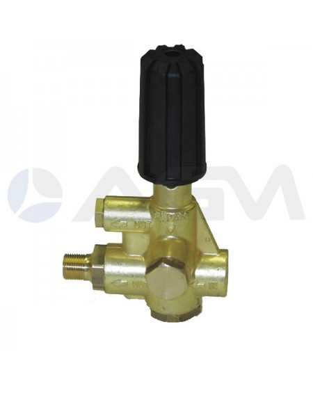 "INTERPUMP VALVULA ALTA PRESION BYPASS ""HM"" 200 BAR."