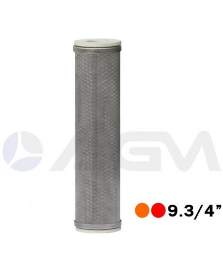 "FILTRO LINEA 9.3/4"" SUTTNER MICRON 50 120ºC ACERO INOX."