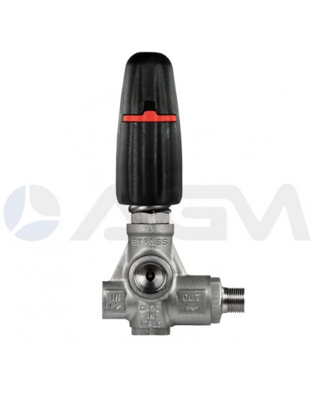 "INTERPUMP VALVULA ALTA PRESION BYPASS ""H253"" 250 BAR."
