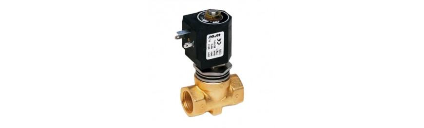 Electroválvulas de Alta Presión para sistemas de lavado industrial.