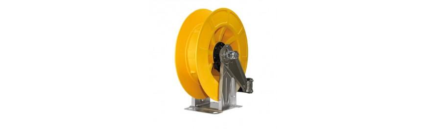 Enrollador de manguera automático de alta presión. Automatic srping driven hose reels. Enroleur automatique haute pression.