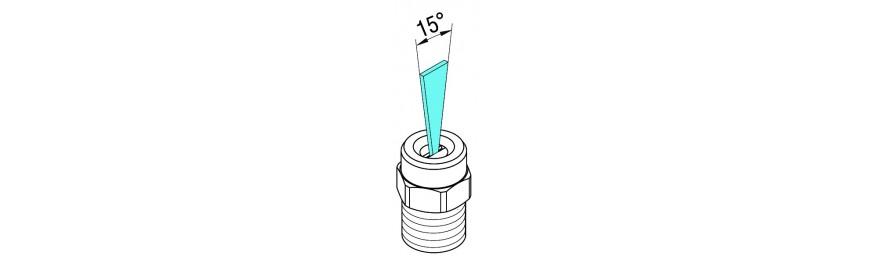 Boquillas de limpieza alta presión de ángulo 15.