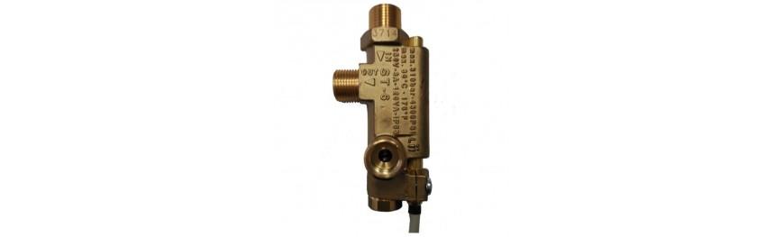 Flusostatos de alta presión. Controladores de caudal de alta presión.
