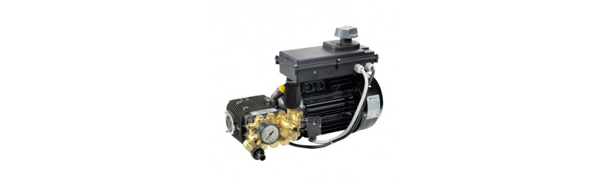 Grupo motor-bomba. Triplex pump units. Groupe moteur-pompe.
