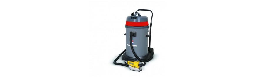 Aspiradores industriales de líquidos, sólidos y polvos.