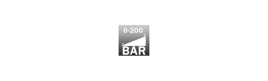 pistolas de lavado alta presión con presión máxima de 200 bar
