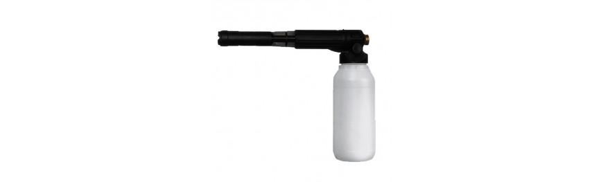 Cañones de espuma para alta presión.