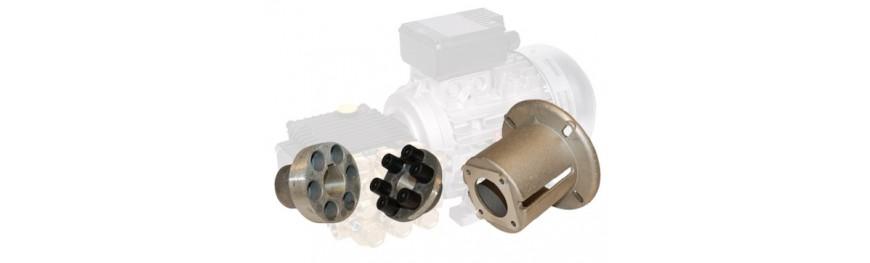 Acoplamientos elásticos para bombas de alta presión Interpump.